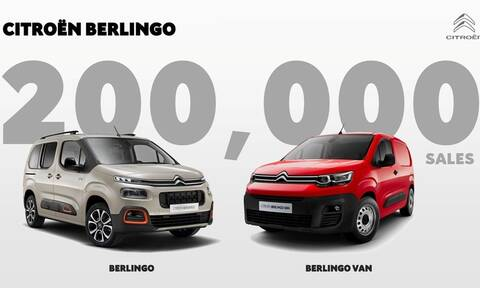 CITROËN BERLINGO: Ξεπέρασε ήδη τις 200.000 πωλήσεις παγκοσμίως