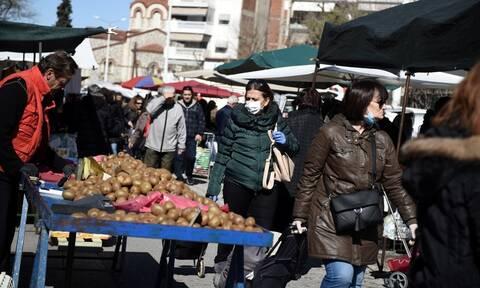 Κορονοϊός - Λαϊκές αγορές: Ποια προϊόντα απαγορεύεται να πωλούνται