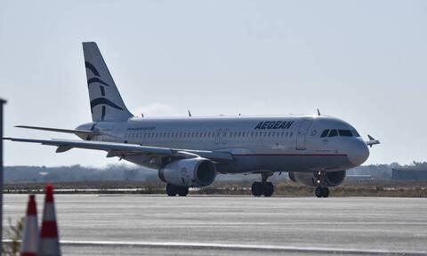 Κοροναϊός: Με έκτακτη πτήση της Aegean ο επαναπατρισμός 100 Ελλήνων
