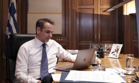 Κορονοϊός - Μητσοτάκης: Η Ε.Ε. να λάβει πιο τολμηρές πρωτοβουλίες για την οικονομία