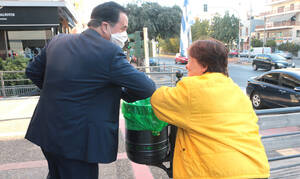Κορονοϊός: Με μάσκα στο σούπερ μάρκετ ο Άδωνις Γεωργιάδης - Τι ανακοίνωσε (pics)