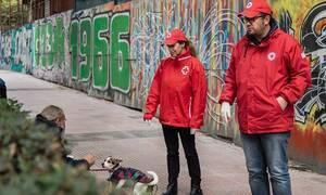 Κορονοϊός στην Ελλάδα: Ο Ελληνικός Ερυθρός Σταυρός υποστηρίζει ευάλωτες κοινωνικές ομάδες