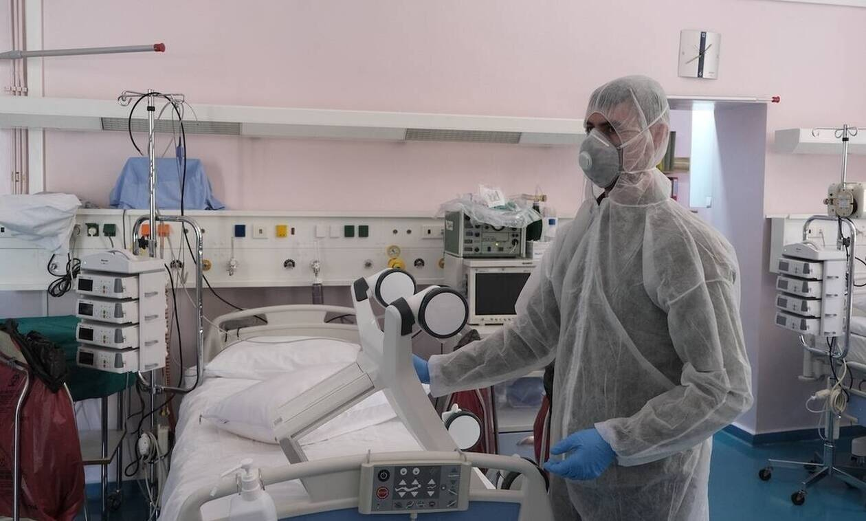 Κορονοϊός: Σε βαριά κατάσταση στην εντατική ο 72χρονος από την Άρτα