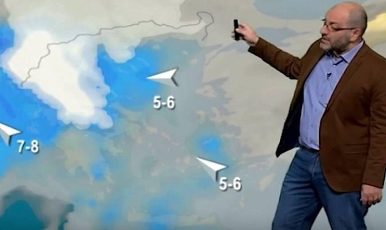 Καιρός: Θερμές μάζες στα νότια και κεντρικά, ψυχρές στα βόρεια! Η ενημέρωση του Αρναούτογλου (Vid)