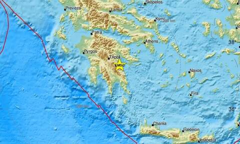Σεισμός στην Αρκαδία (pics)