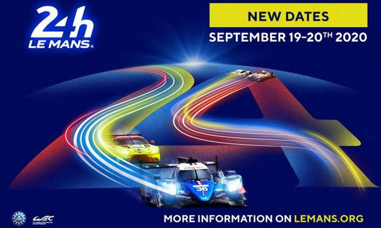 Κορονοϊός: οι θρυλικές 24 Ώρες του Le Mans μετατέθηκαν για τις 19 και 20 Σεπτεμβρίου