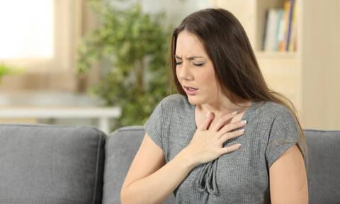 Κρίση δύσπνοιας: Οι πιθανές αιτίες και πώς θα την αντιμετωπίσετε (εικόνες)