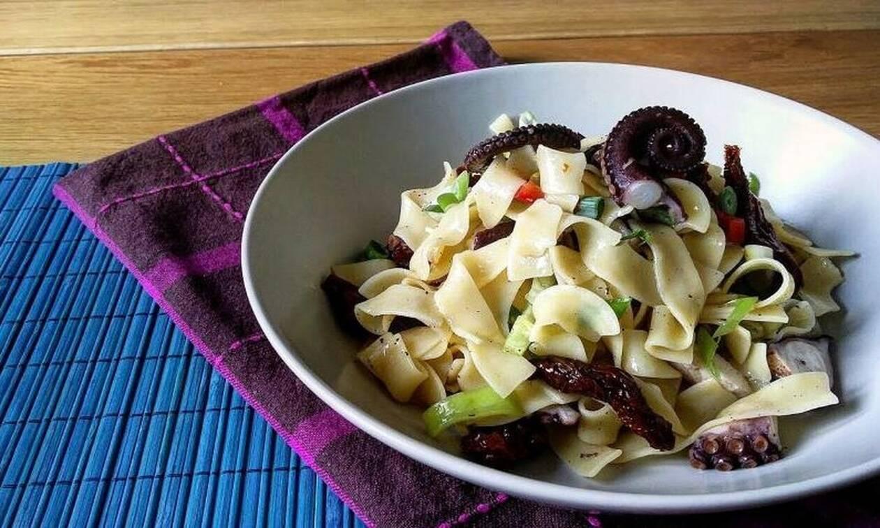 Η συνταγή της ημέρας: Χταποδοσαλάτα