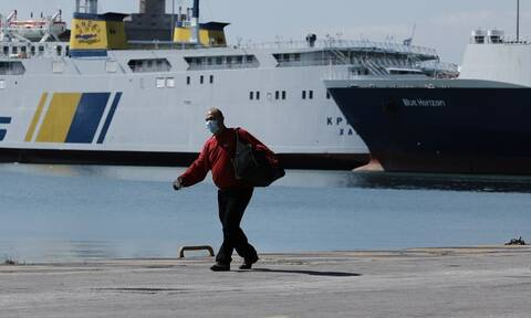 Travel on ferries restricted to permanent island residents, supply of goods
