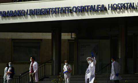 Κορονοϊός Ισπανία: Σε τεράστιο νοσοκομείο μετατρέπεται συνεδριακό κέντρο στη Μαδρίτη