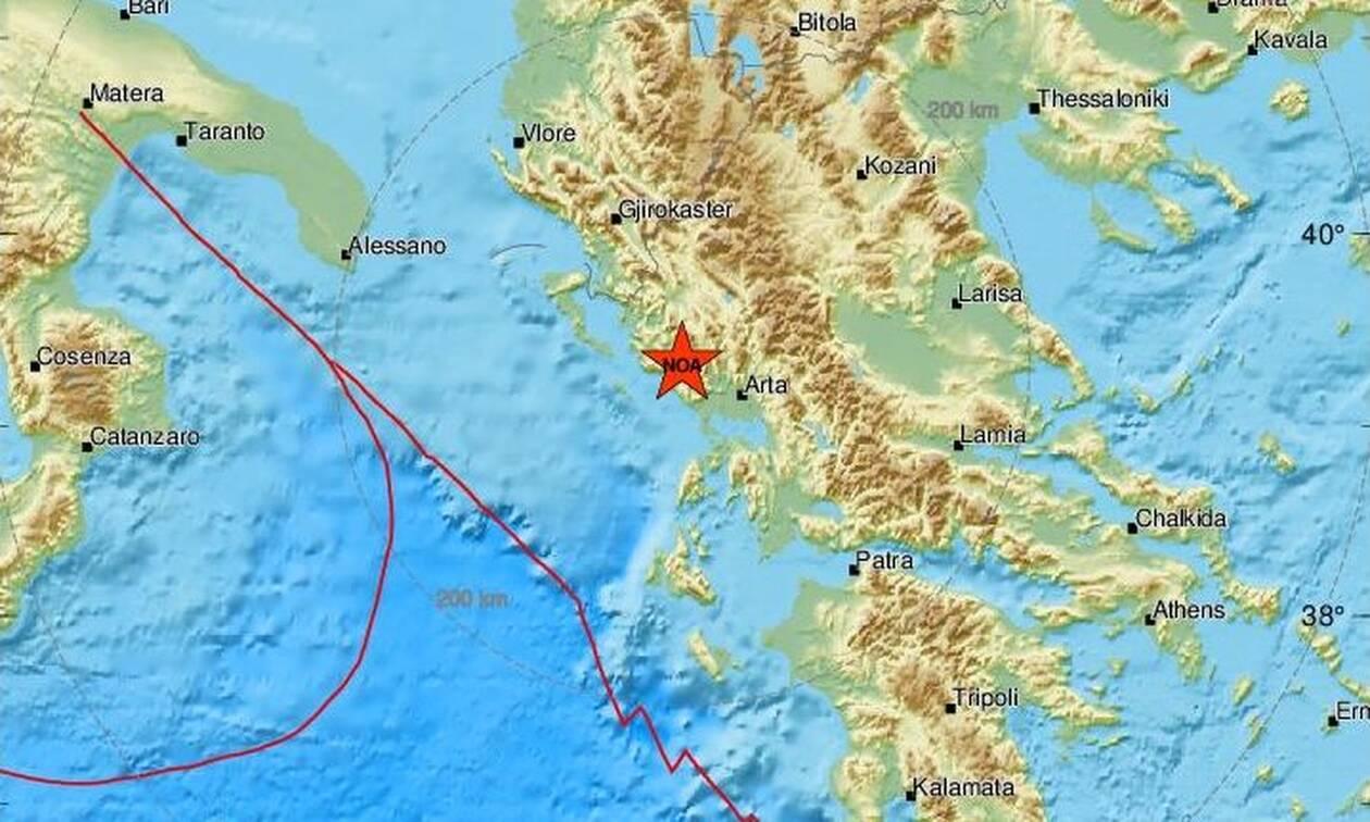 Ισχυρός σεισμός στην Πάργα - Αισθητός στη μισή Ελλάδα (pics)