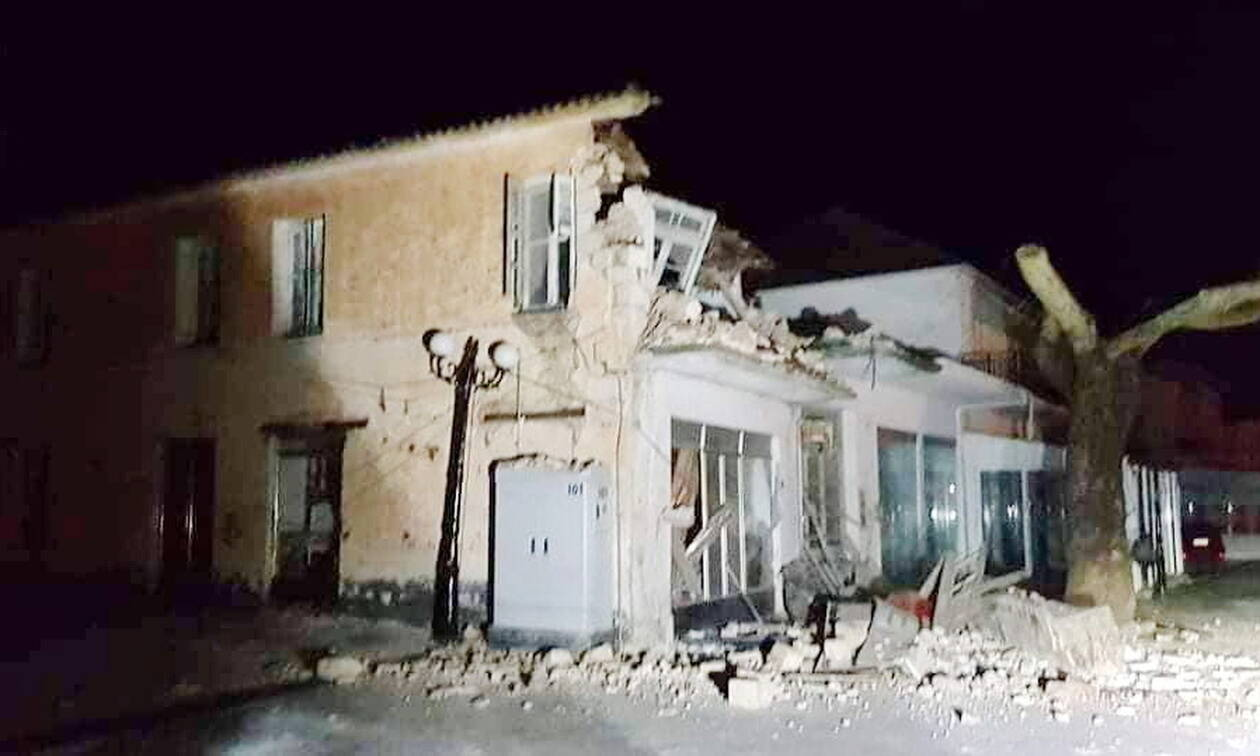 Σεισμός στην Πάργα: Ζημιές σε κτήρια στο Καναλλάκι (pics)
