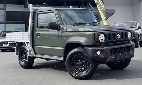 Το Suzuki Jimny είναι διαθέσιμο και ως αγροτικό… στη Νέα Ζηλανδία