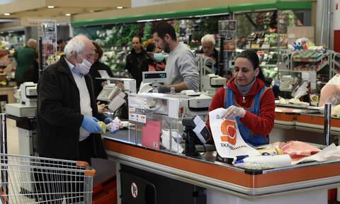 Κορονοϊός στην Ελλάδα: Τι αλλάζει από την Κυριακή στα σούπερ μάρκετ