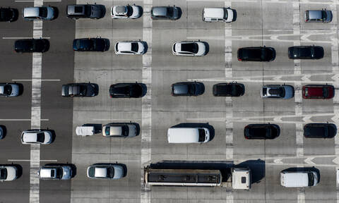 Κορονοϊός: Πόσα οχήματα πέρασαν τα διόδια την Παρασκευή;