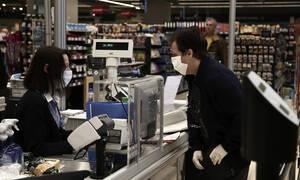 Κορονοϊός: Πώς θα λειτουργήσουν την Κυριακή τα σούπερ μάρκετ
