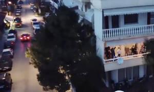Πιερία: Το πάρτι με τους 51 DJs - Τα «έσπασαν» στα μπαλκόνια (videos)