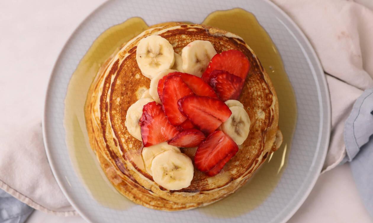 Η συνταγή της ημέρας: Vegan pancakes
