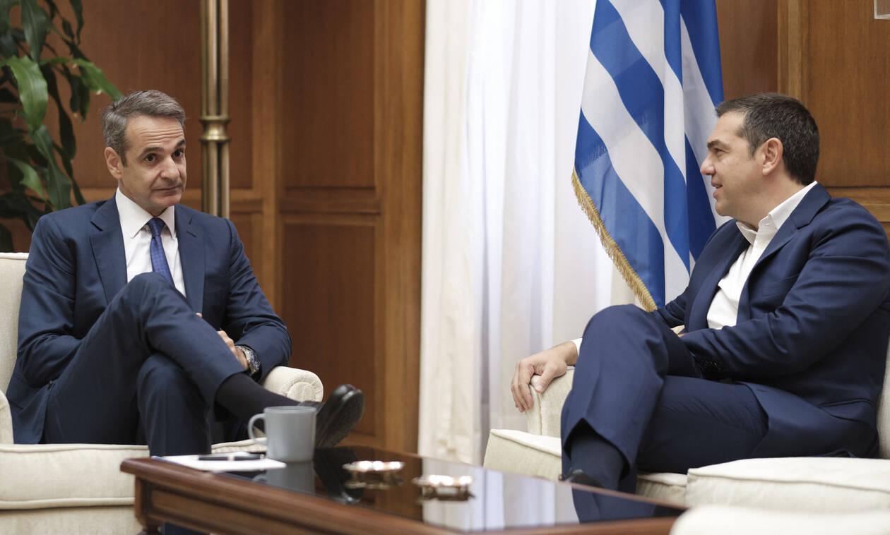 Κορονοϊός – Απαγόρευση κυκλοφορίας: Ο Μητσοτάκης μίλησε με Τσίπρα πριν το διάγγελμα