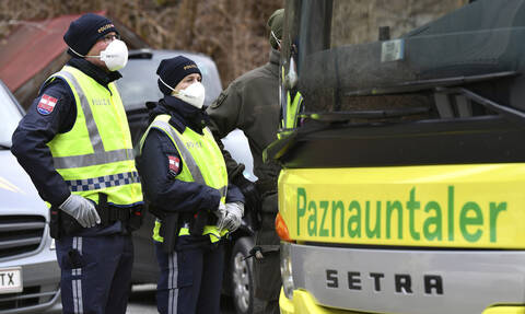 Κορονοϊός Αυστρία: Μειώνεται η ποσοστιαία αύξηση των νέων επιβεβαιωμένων κρουσμάτων
