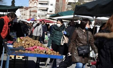 Απαγόρευση κυκλοφορίας: Προσοχή! Τι ισχύει με τις λαϊκές αγορές