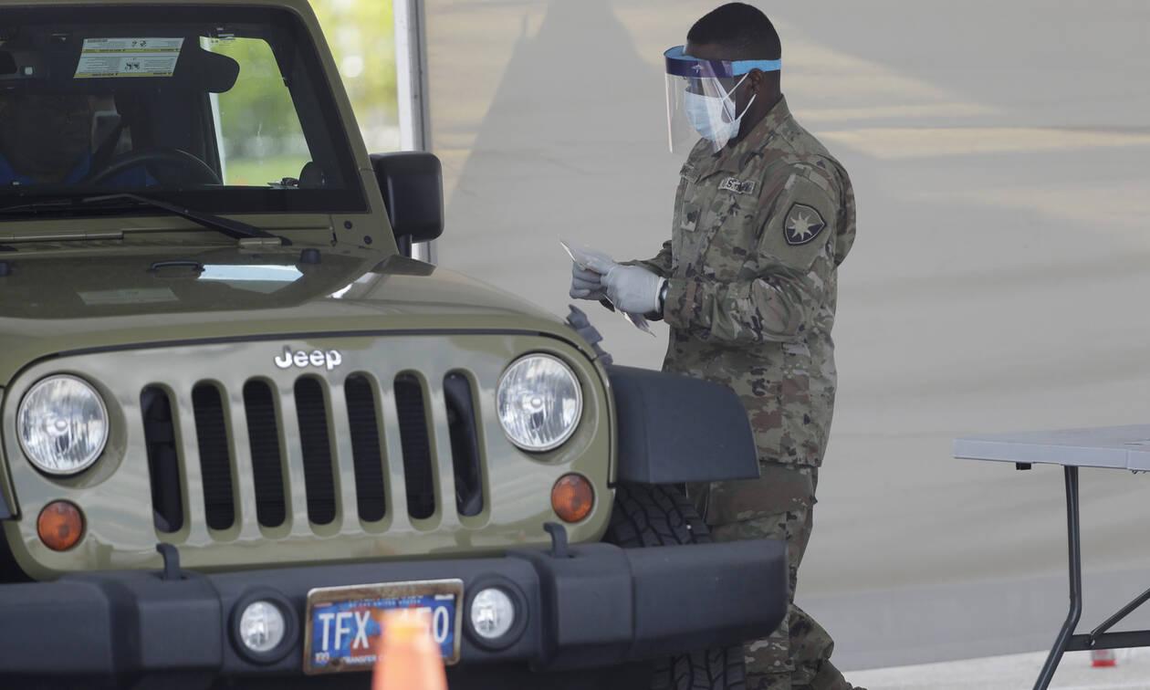 Κορονοϊός - ΗΠΑ: Περισσότεροι από 100 νεκροί το τελευταίο 24ωρο από την πανδημία