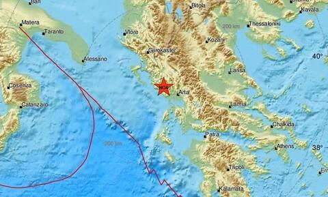 Σεισμός στην Πάργα - Μετασεισμική δόνηση στην περιοχή (pics)