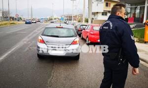 Κορονοϊός στην Ελλάδα - Απαγόρευση της κυκλοφορίας: Έτσι γίνονται οι έλεγχοι της ΕΛ.ΑΣ (pics+vid)