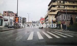 Κορονοϊός - Απαγόρευση κυκλοφορίας: Πρωτόγνωρες εικόνες από τους άδειους δρόμους της Αθήνας