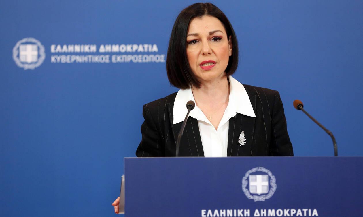 Κορονοϊός: Δείτε Live την ενημέρωση για τα μέτρα της κυβέρνησης από την Αριστοτελία Πελώνη
