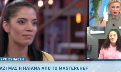 MasterChef: Η Ηλιάνα δίνει «στεγνά» τη Μαριάννα (video)