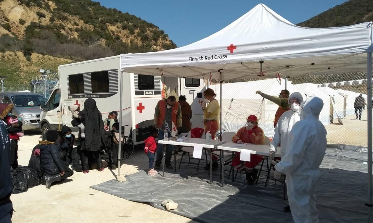 Ο Ελληνικός Ερυθρός Σταυρός στο Κλειδί Σερρών – Πρωτοβάθμια φροντίδα υγείας σε 598 μετανάστες