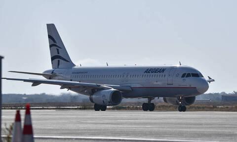 Κορονοϊός: Προσοχή! Αναστέλλονται οι πτήσεις της Aegean στο εξωτερικό - Η μόνη εξαίρεση