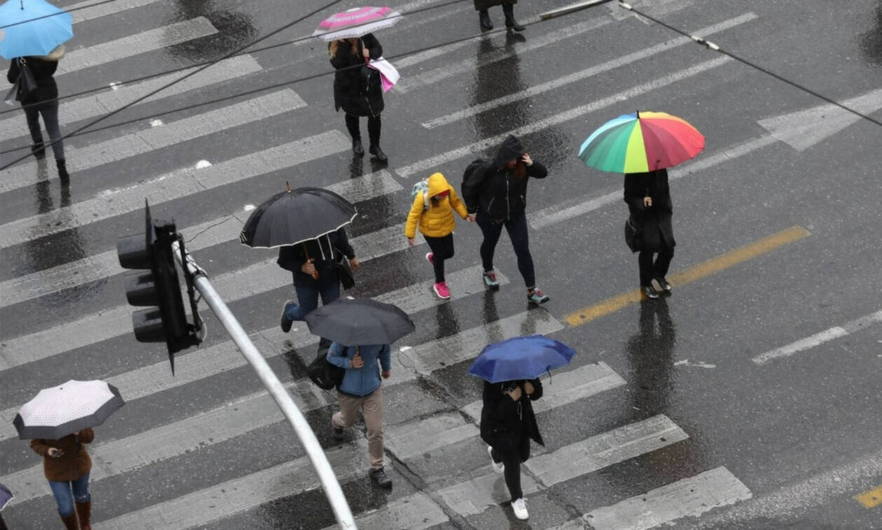 Καιρός: Βροχές και καταιγίδες την Τρίτη - Αναλυτική πρόγνωση για όλη τη χώρα