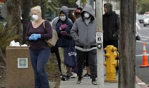Κορονοϊός - ΗΠΑ: 400 θάνατοι από τον νέο κορονοϊό - 33.453 επιβεβαιωμένα κρούσματα