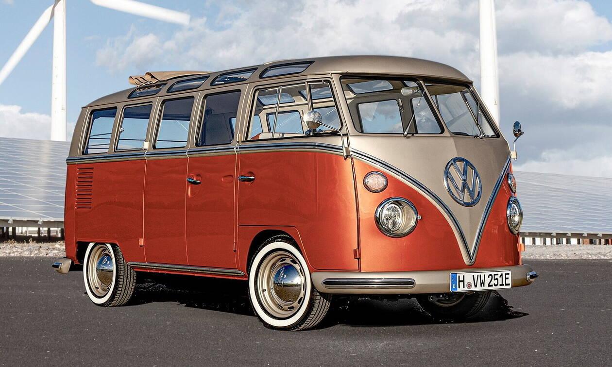 Αυτή η κλασική κλούβα της VW κινείται από τον ηλεκτροκινητήρα του e-Up!