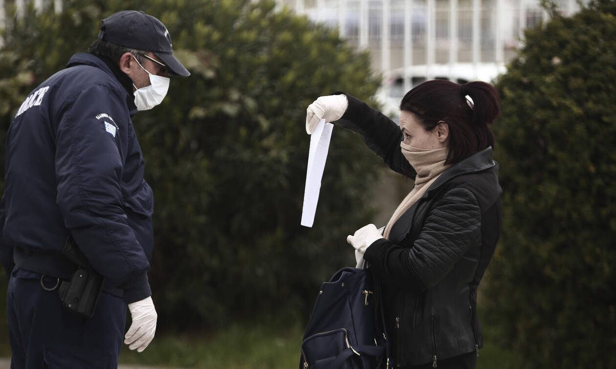 Police imposed 150- euro fines on 164 citizens for violating coronavirus curfew