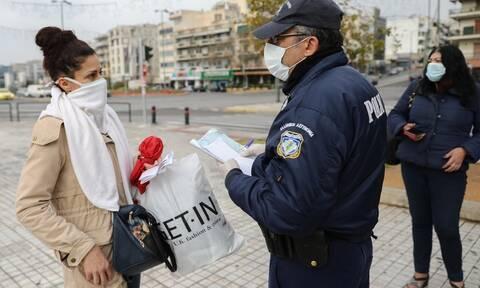 Κορονοϊός: Σε 766 ανήλθαν οι παραβάσεις του μέτρου απαγόρευσης της κυκλοφορίας