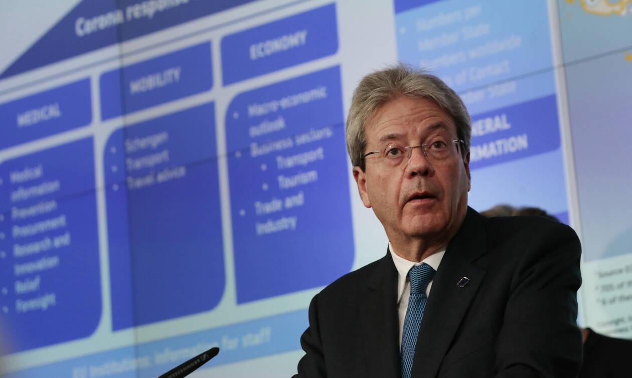 Κορονοϊός: Ο Eπίτροπος Οικονομικών Υποθέσεων της ΕΕ Πάολο Τζεντιλόνι σε προληπτική αυτο-απομόνωση