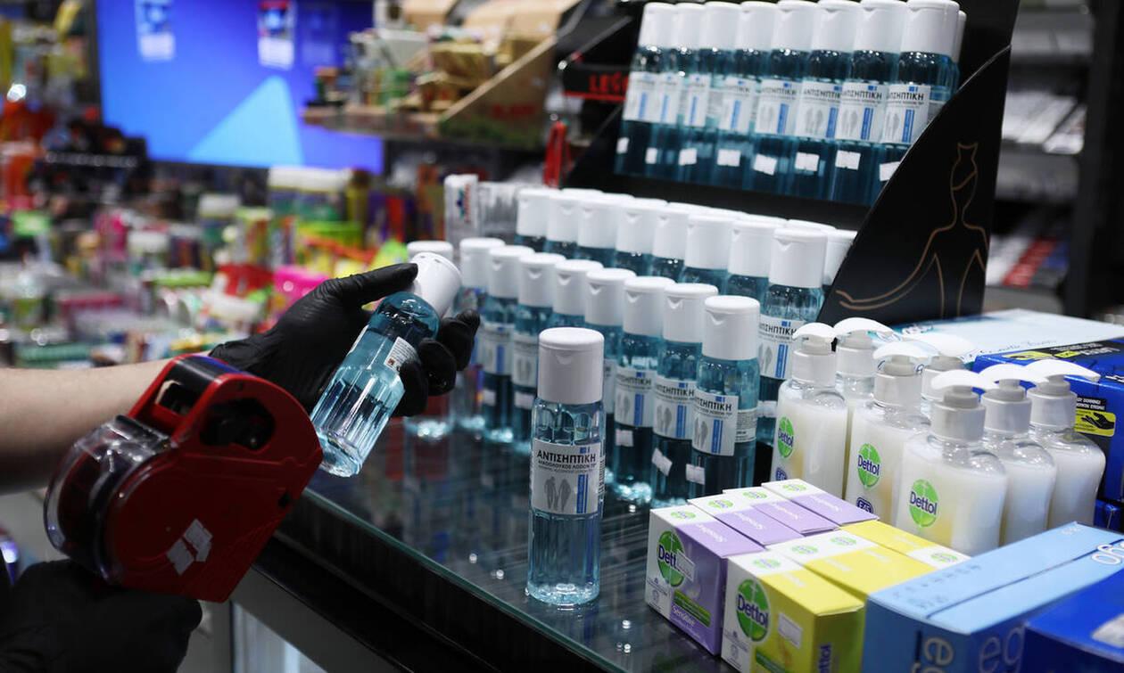 Δωρεάν παραγωγή αντισηπτικών διαλυμάτων από την Πανελλήνια Ένωση Φαρμακοβιομηχανίας