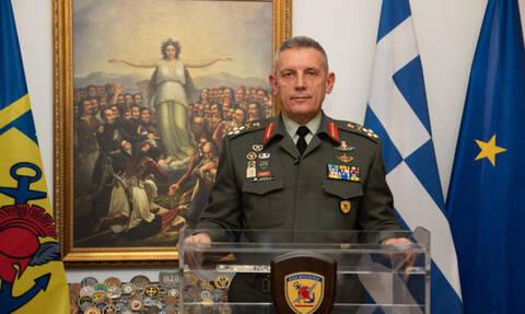 25η Μαρτίου:«Κανείς δεν μας αγγίζει» - Το μήνυμα του αρχηγού ΓΕΕΘΑ, Κωνσταντίνου Φλώρου