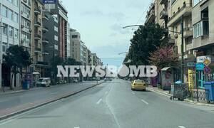 Κορονοϊός - 25η Μαρτίου: Πόλη χωρίς ψυχή η Αθήνα -Τέτοιες εικόνες δεν έχετε ξαναδεί
