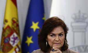 Κορονοϊός - Ισπανία: Θετική η αντιπρόεδρος της κυβέρνησης Κάρμεν Κάλβο