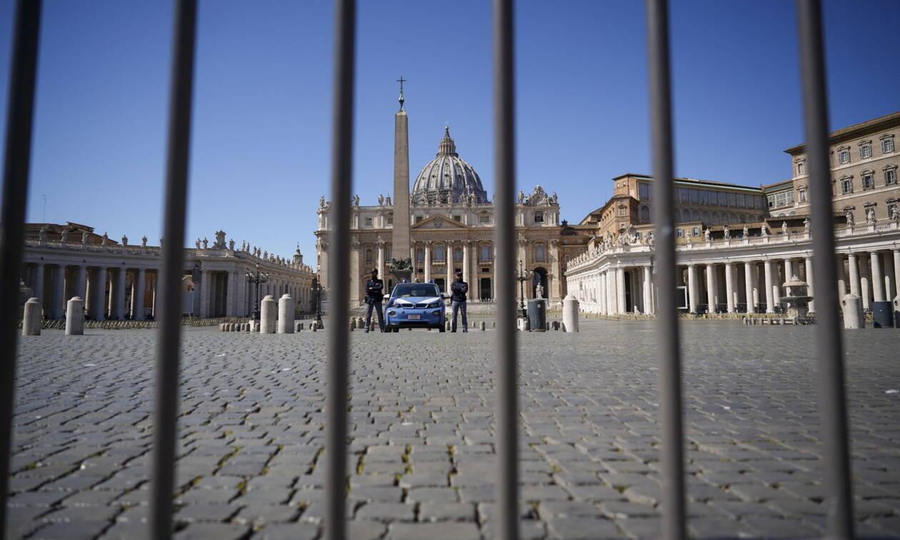 Κορονοϊός: Χωρίς πιστούς οι λειτουργίες το Πάσχα στο Βατικανό
