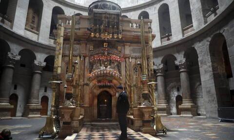 Κορονοϊός στο Ισραήλ: Έκλεισε ο Πανάγιος Τάφος