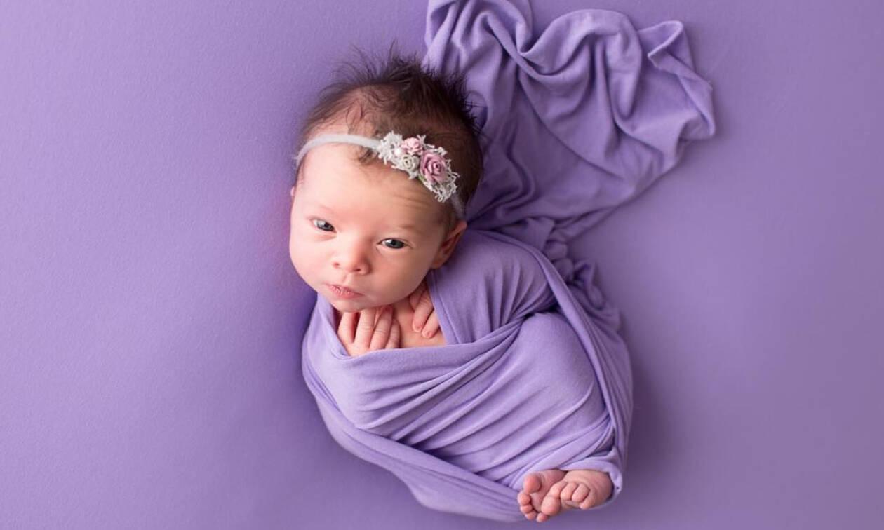 Purple Day: Γιορτάζουμε την Ημέρα του Μωβ με τις πιο χαριτωμένες φωτογραφίες μωρών (pics)