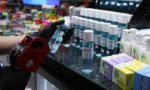 Κορονοϊός: Επιταχύνεται η διαδικασία παρασκευής αντισηπτικών