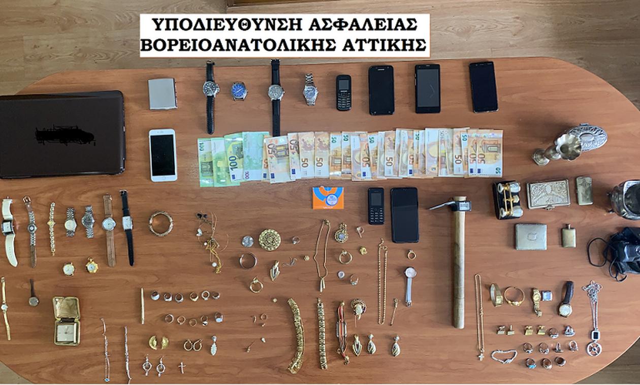 Εξάρθρωση δύο συμμοριών που διέπρατταν διαρρήξεις και ληστείες σε περιοχές της Αττικής