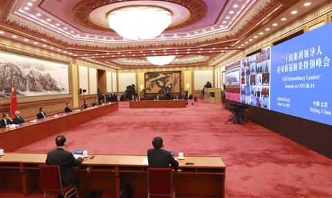Κορονοϊός  G20: Περισσότερα από 5 τρισεκατομμύρια δολάρια στην «μάχη» κατά του ιού
