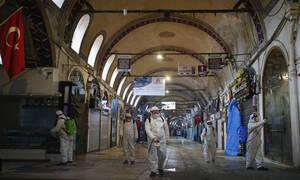 Κορονοϊός Τουρκία: Ακόμη 16 νεκροί – Πάνω από 1.000 νέα κρούσματα σε 24 ώρες